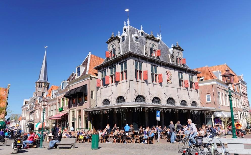 Rondleiding Hoorn - Prachtig weer op 7 april in Hoorn