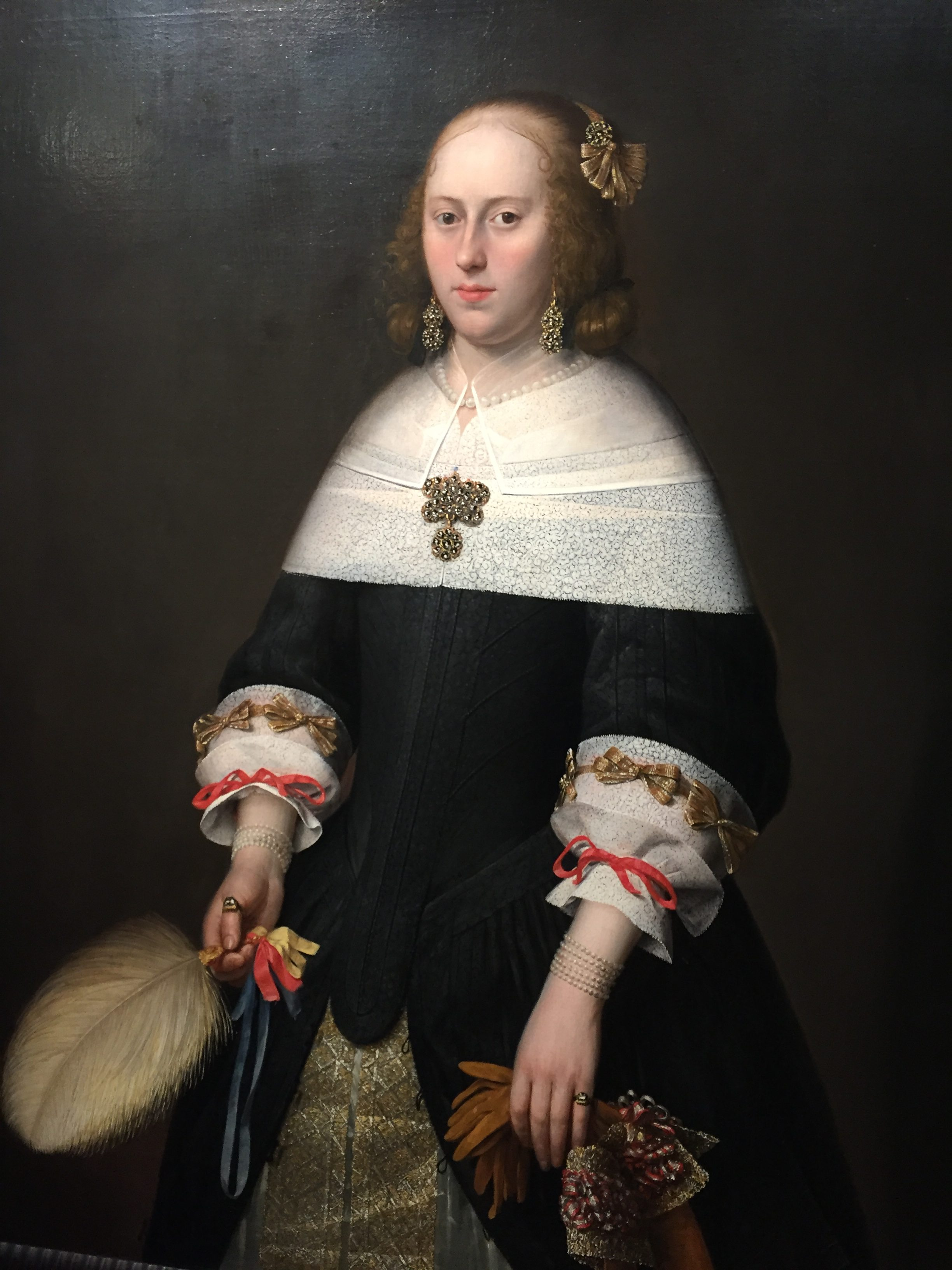 Guided Tour Hoorn: Portrait of Brigitta de Groot