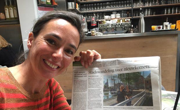 Stadswandeling Hoorn: Artikel in NHD