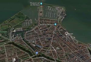Kaart Hoorn uit 2019 | Rondleiding - Stadswandeling Hoorn