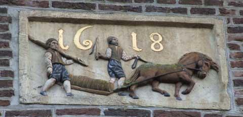 Bierdragers in Hoorn
