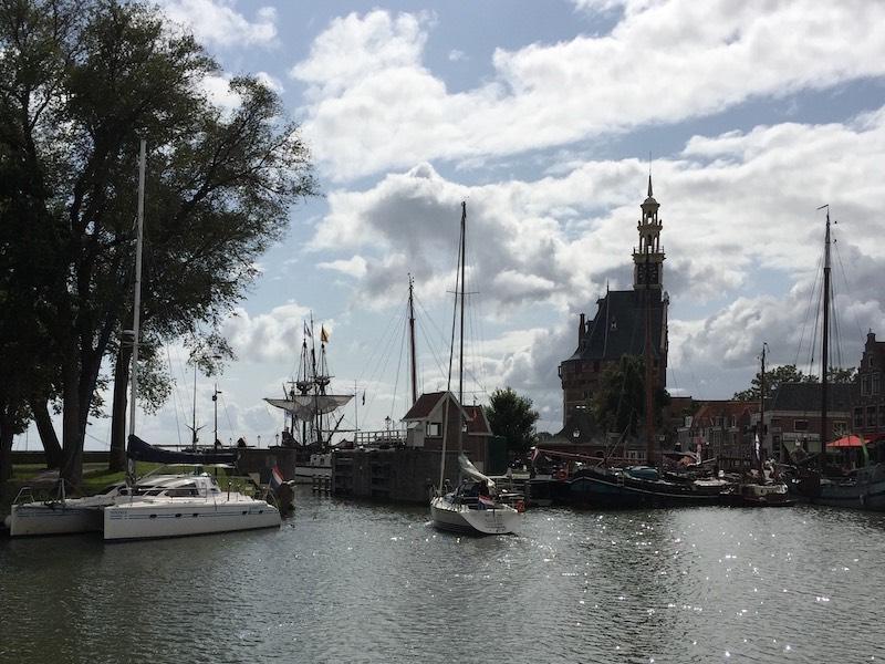 Wandelen rond groen Hoorn - Uitzicht vanaf de Doelenkade